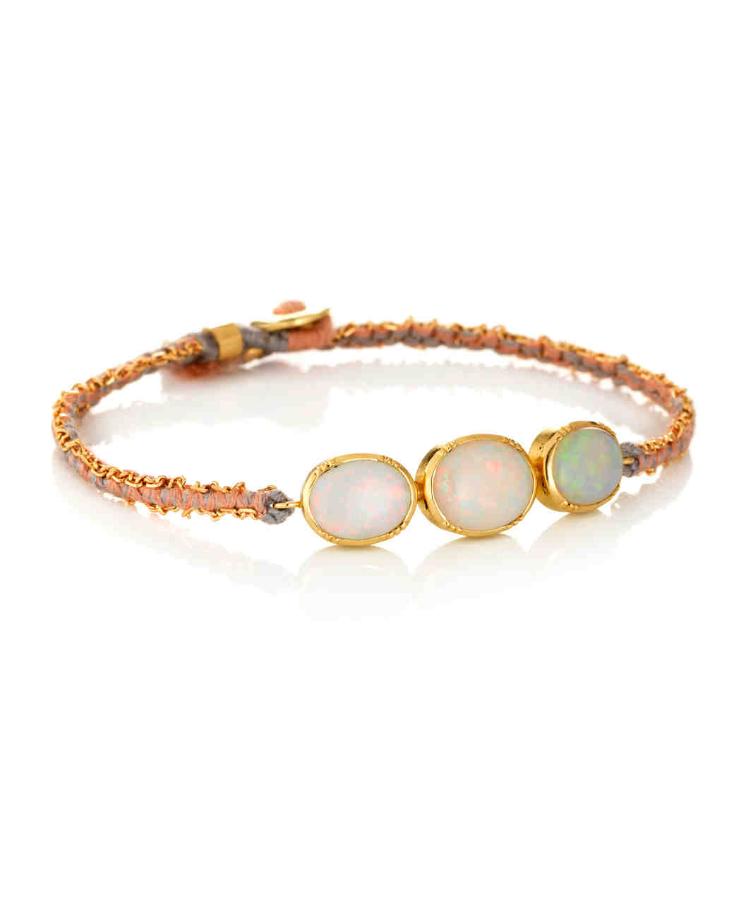bracelet lady white women real nice oval inches bracelets s gift fire blue item fashion opal for