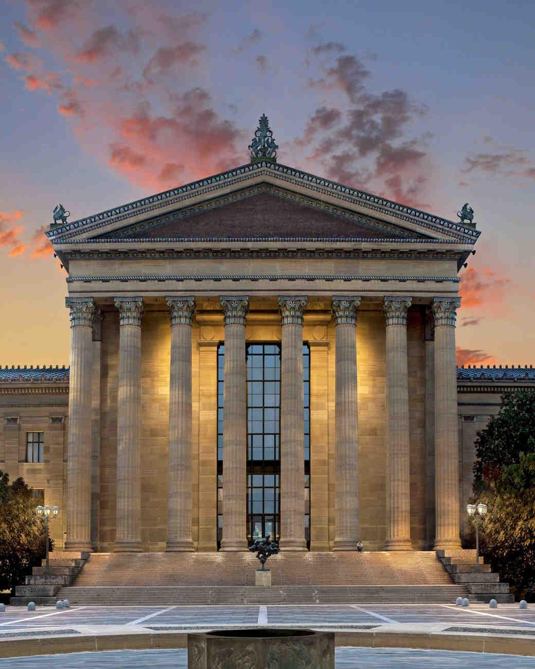 philadelphia museum of art dusk