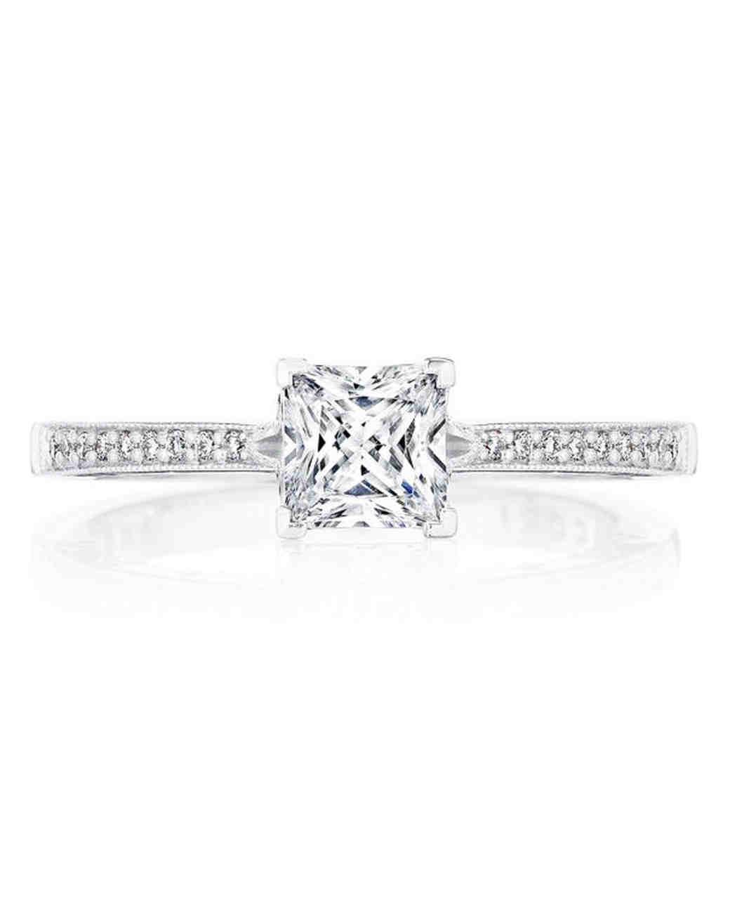 princess cut ring tacori diamonds