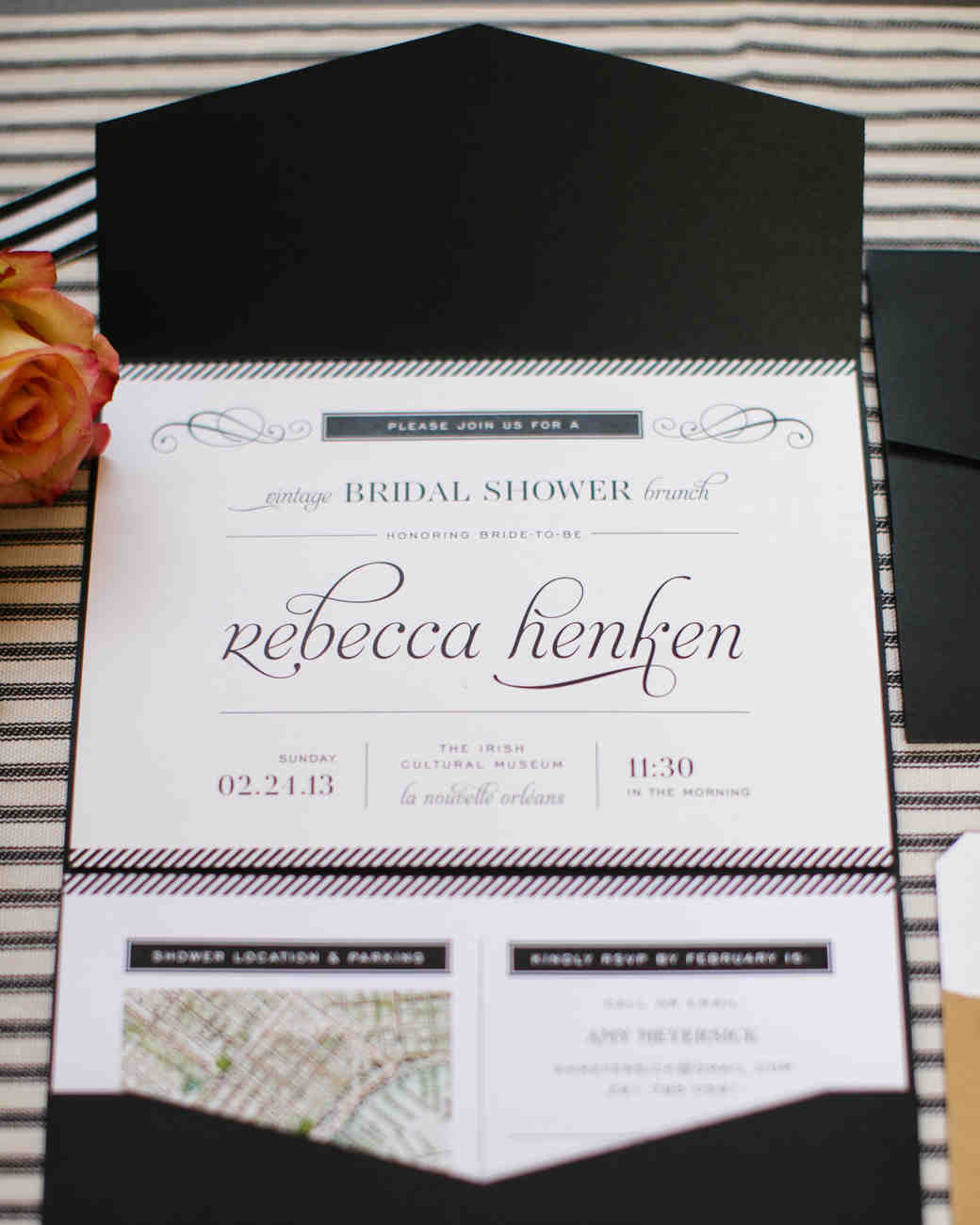 Rebecca\'s French-Themed Shower in New Orleans | Martha Stewart Weddings