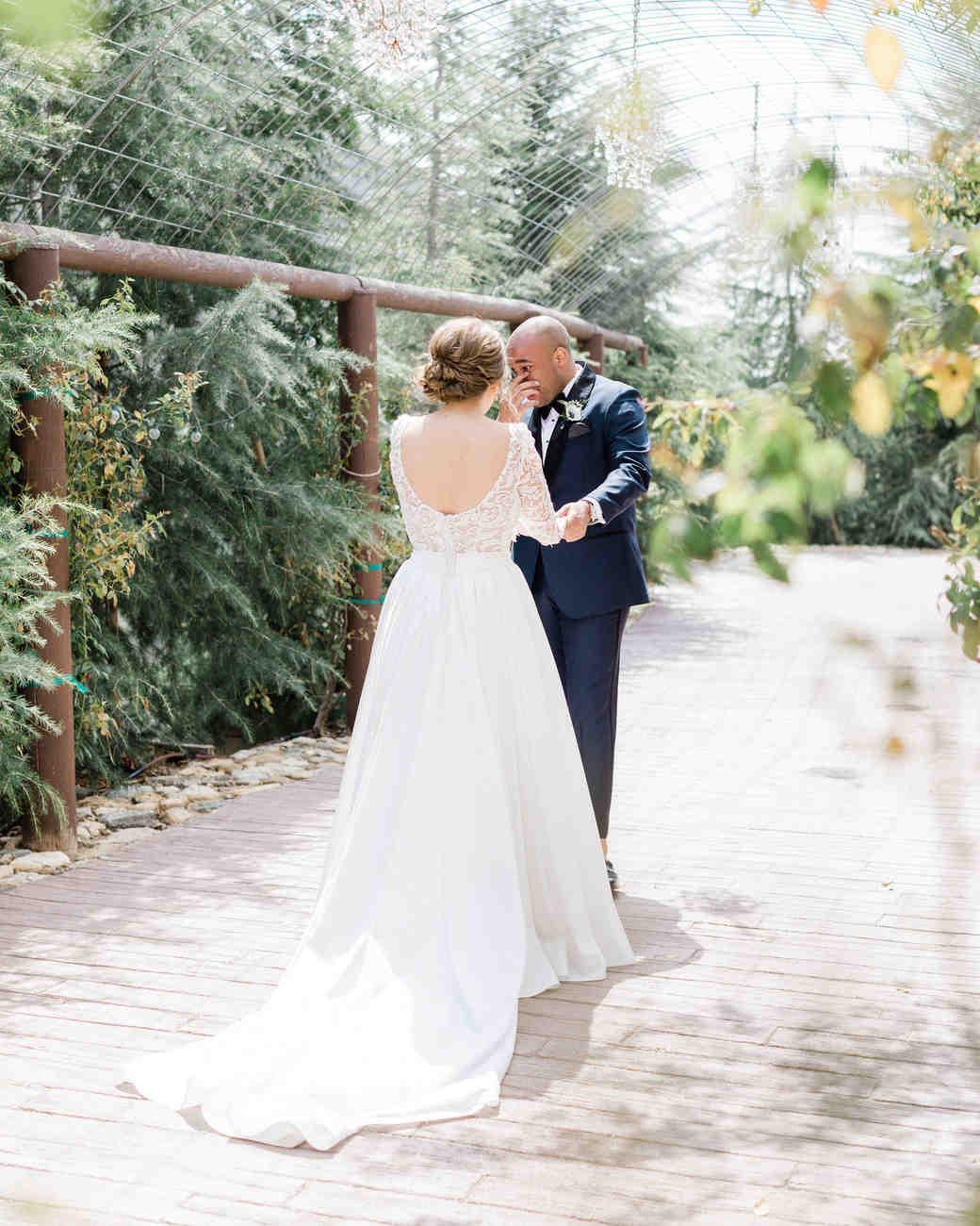 susie joe wedding first look