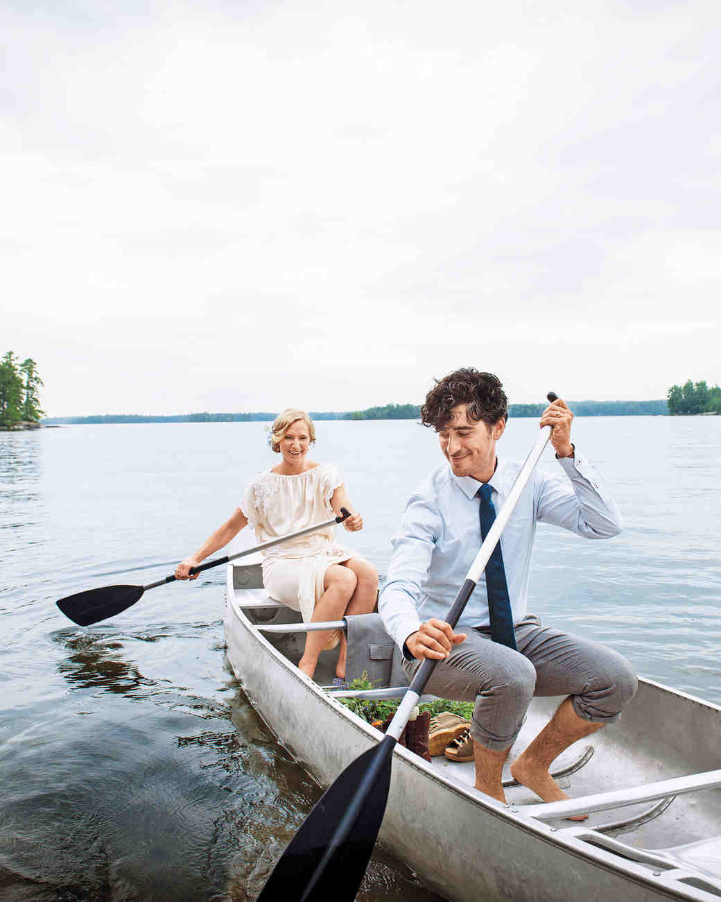 A Wedding Weekend at Maine\'s Camp Wohelo | Martha Stewart Weddings