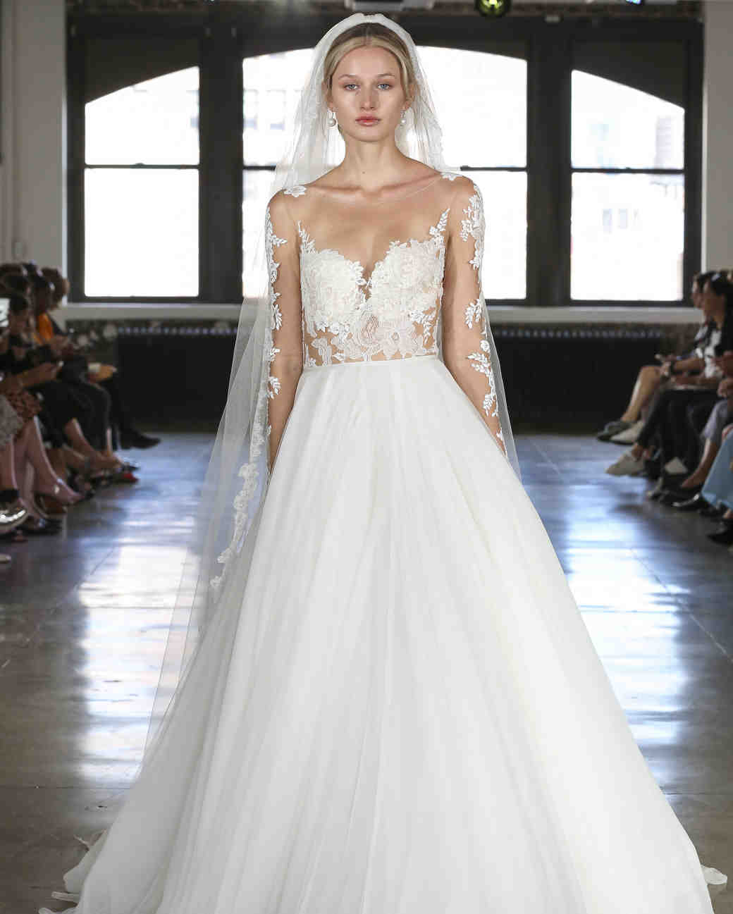 d1fa653f9 Watters Fall 2019 Wedding Dress Collection | Martha Stewart Weddings