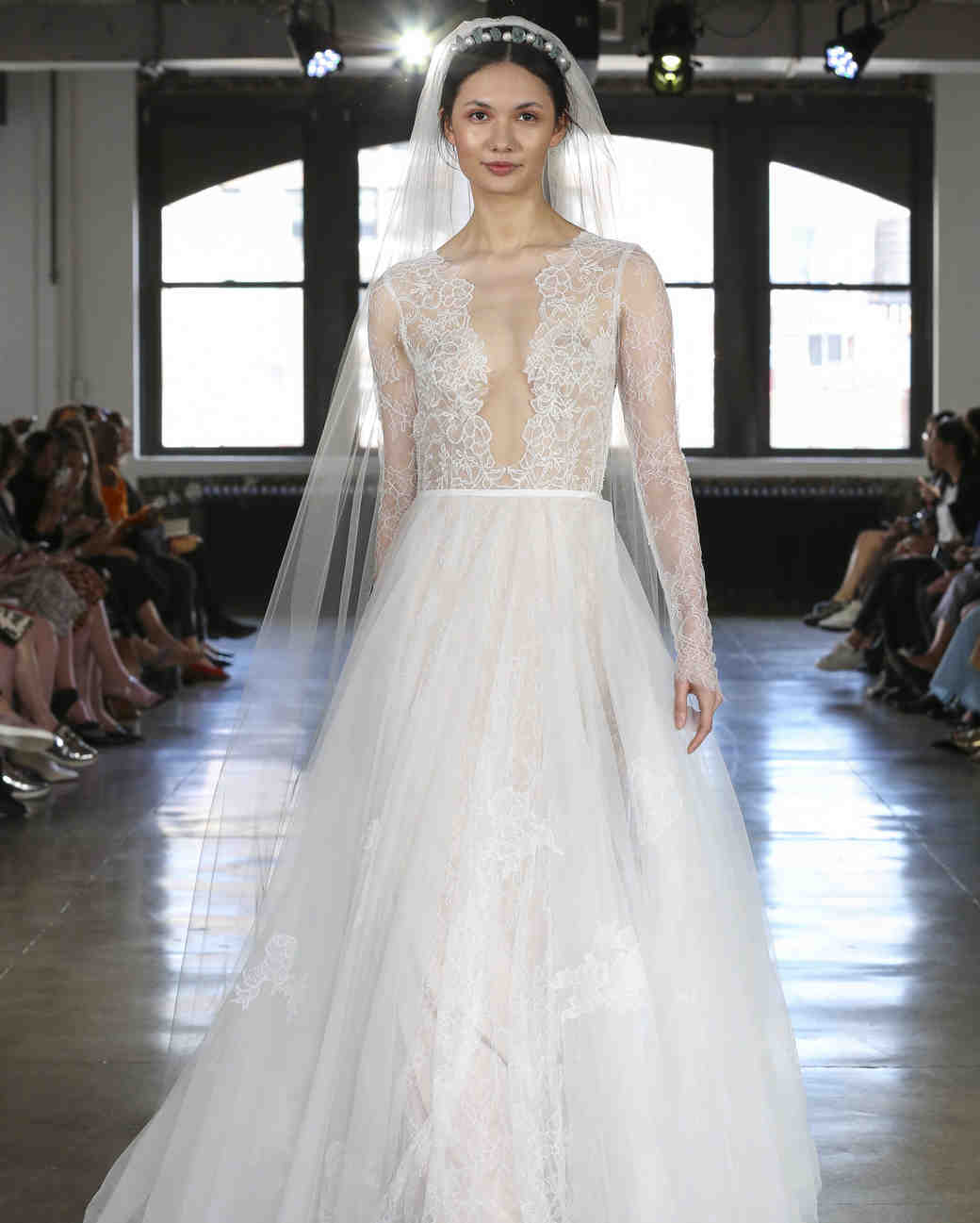 Watters Long Sleeve Wedding Dress Fall 2019: Pink Wedding Dresses By Watters At Reisefeber.org