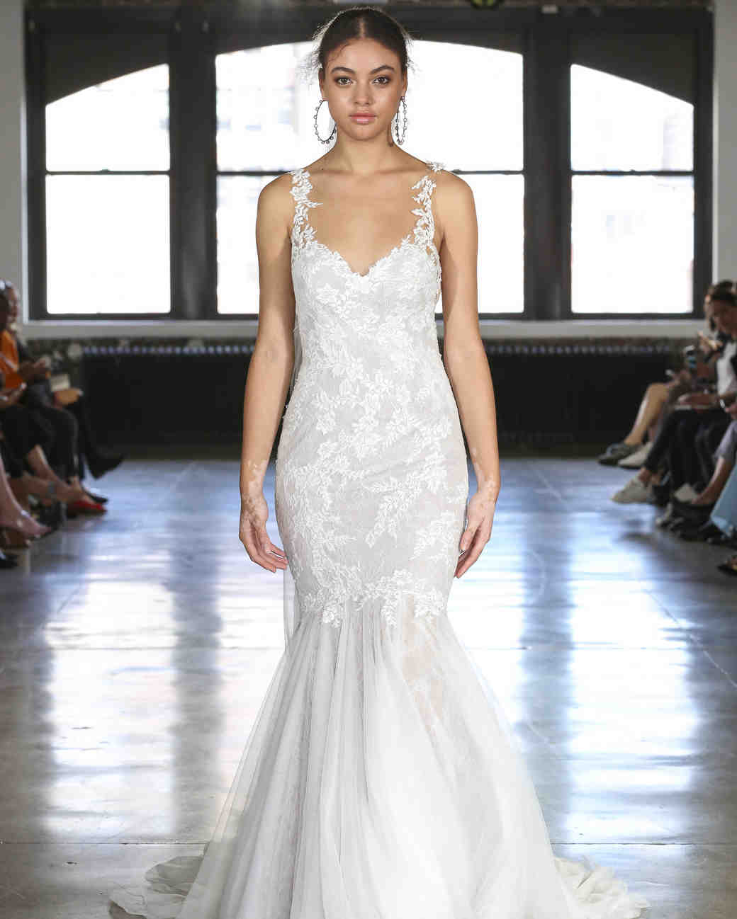 Watters mermaid wedding dress fall 2019