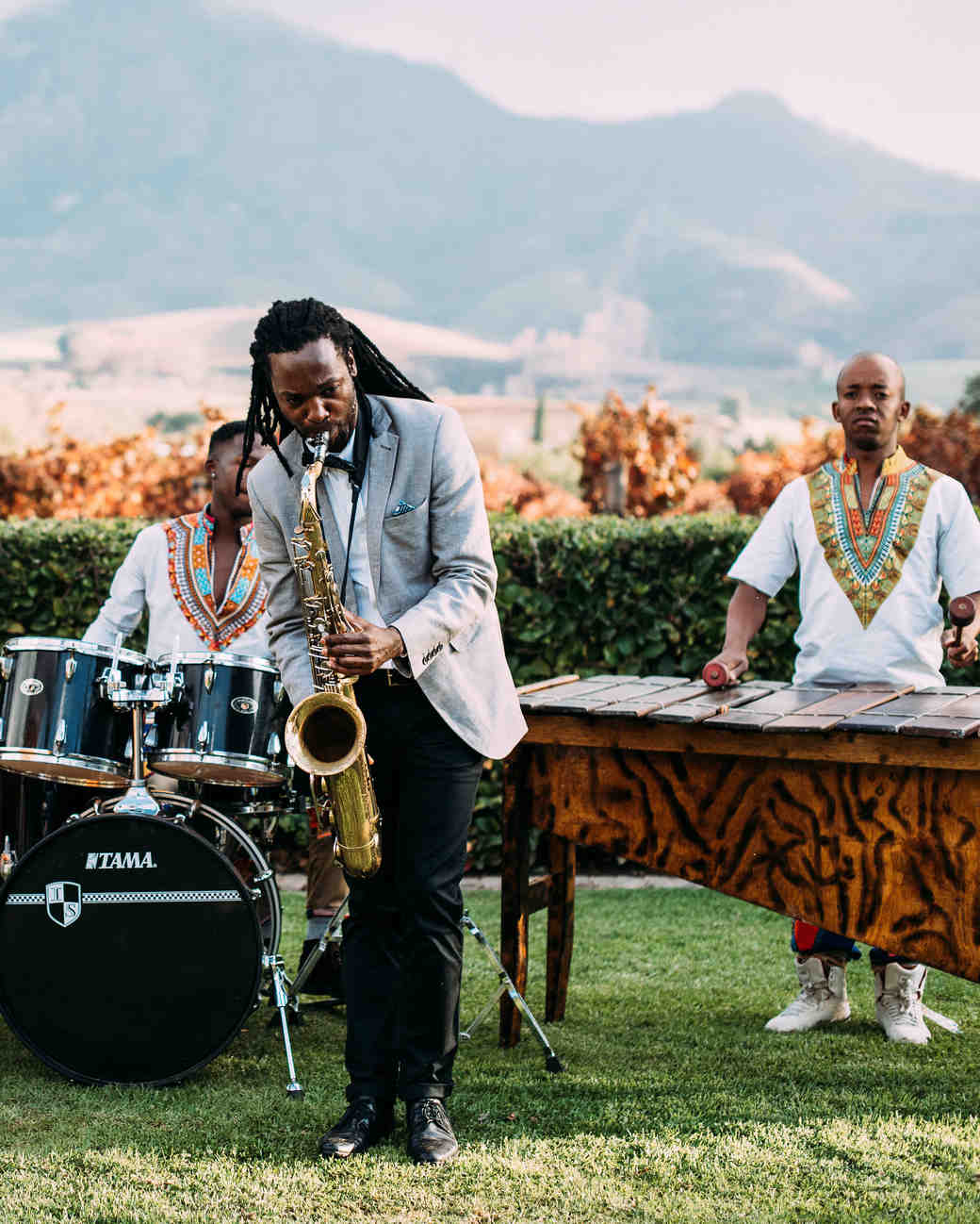 yolana douglas wedding music and dancing
