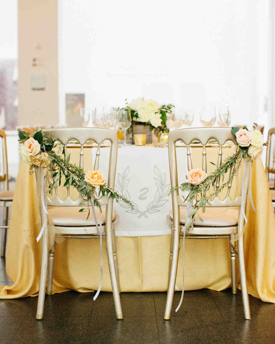A Classic Black-Tie Wedding in Chicago | Martha Stewart Weddings