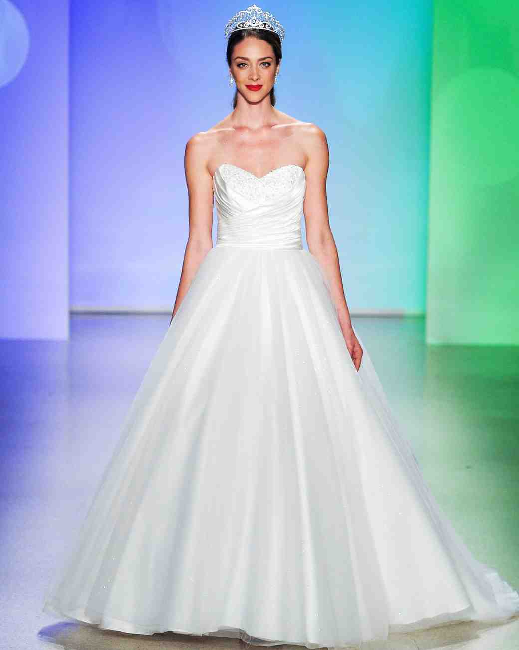 Disney Fairy Tale Bridal by Alfred Angelo Fall 2017 Wedding Dress ...