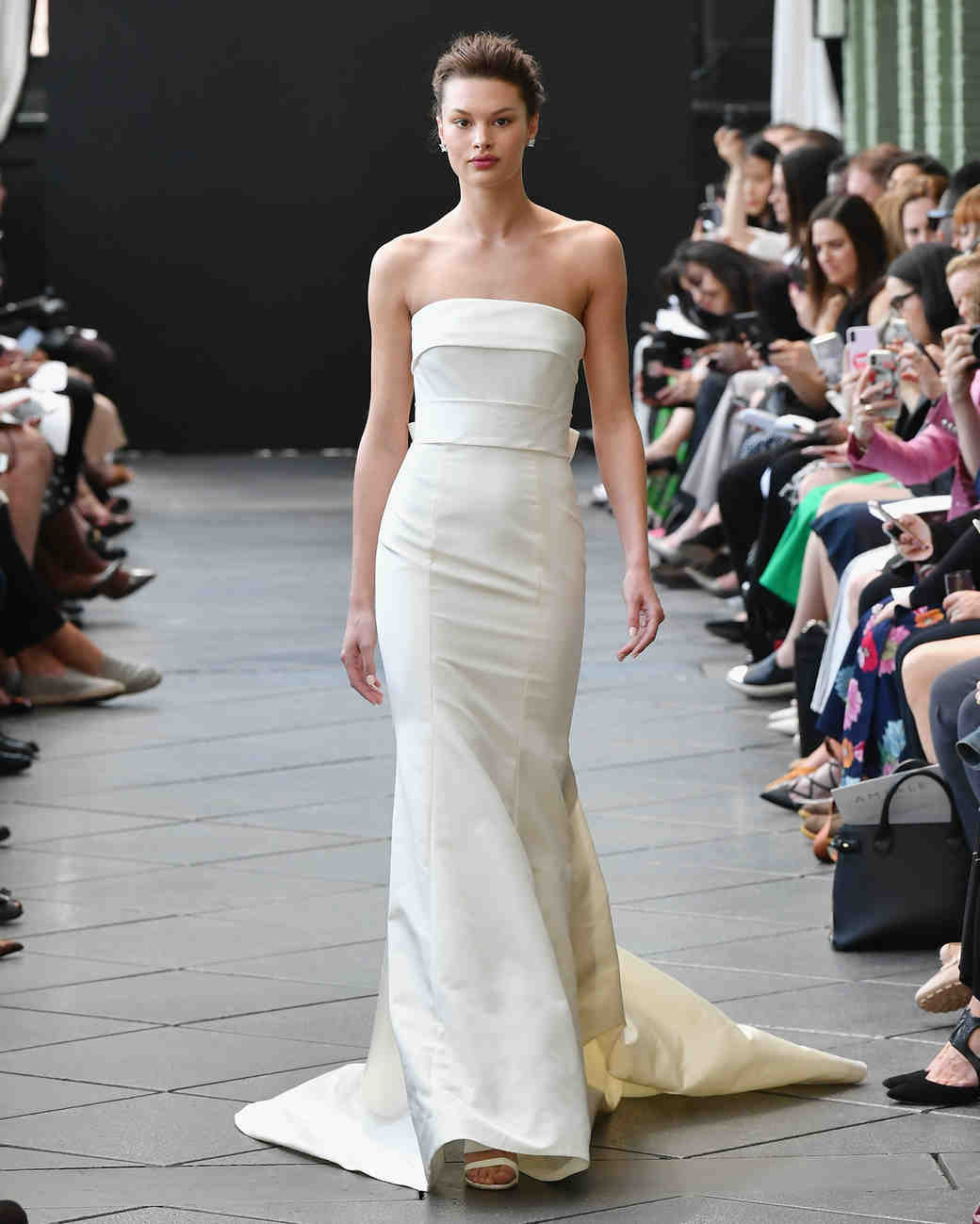 amsale wedding dress spring 2019 strapless