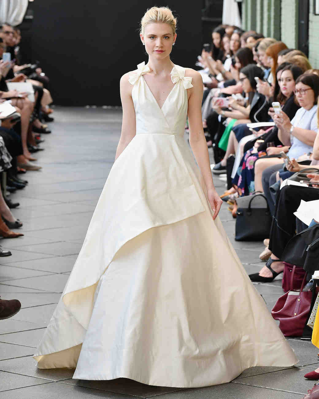 Wedding Dress Trends from Spring 2019 Bridal Fashion Week | Martha ...