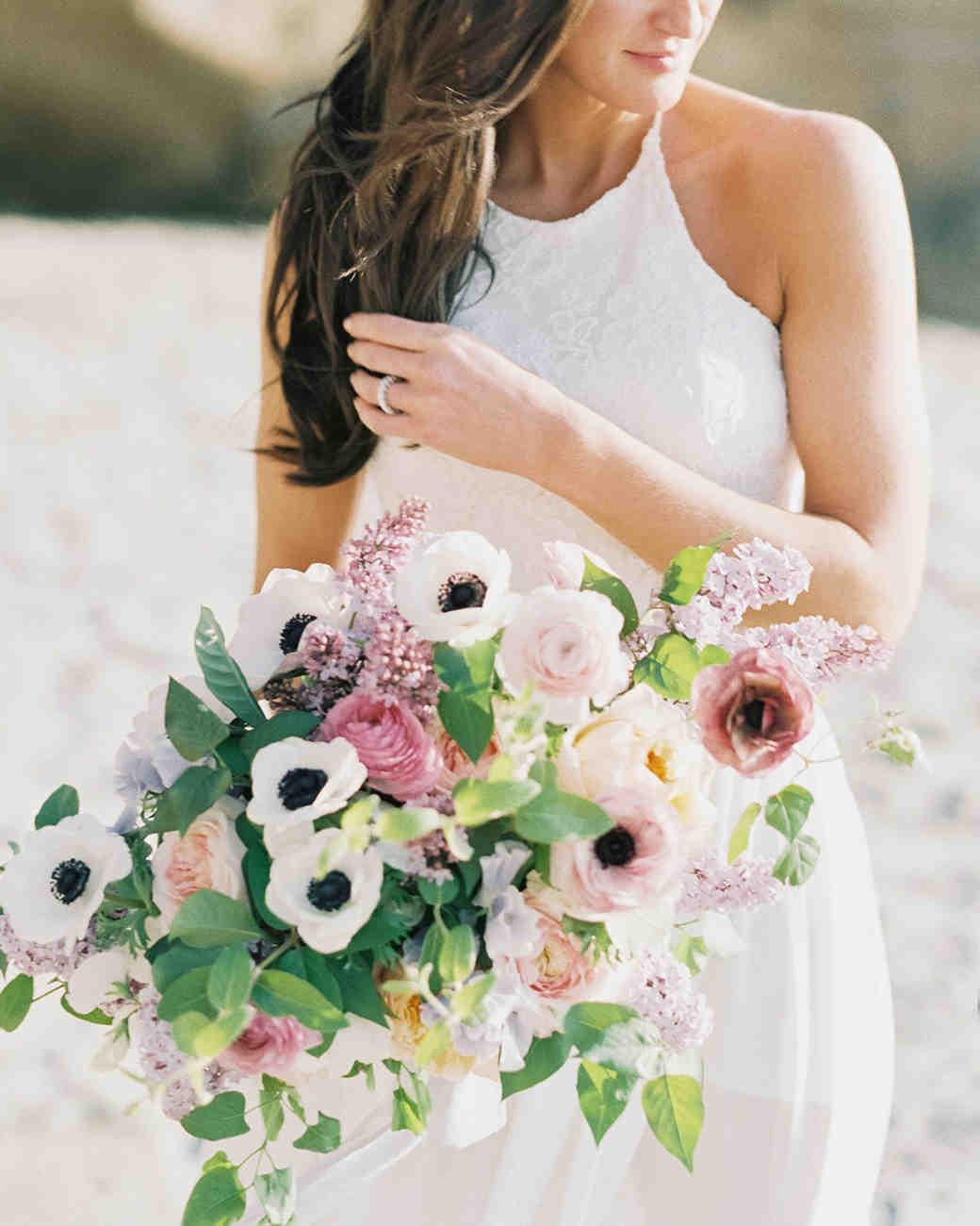 25 anemone wedding bouquets for every type of bride martha stewart anemone bouquets luna de mare izmirmasajfo