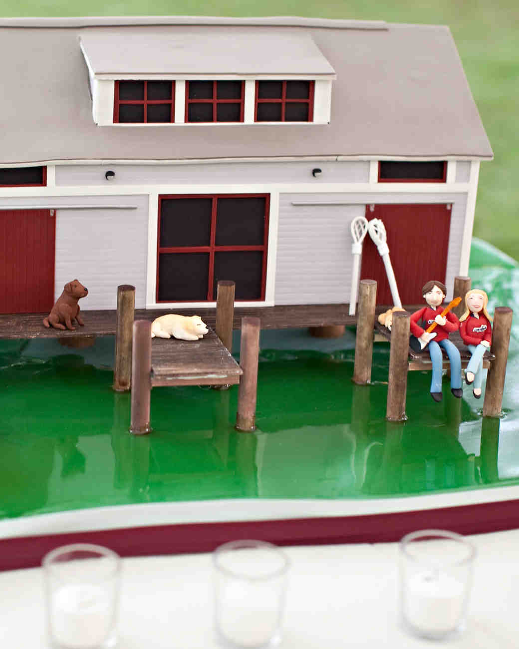 House-Themed Groom's Cake