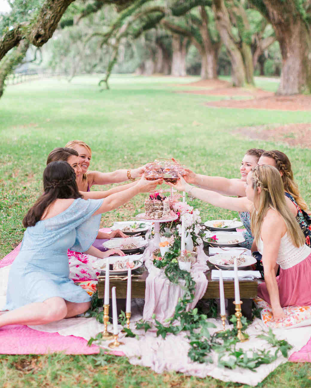 Garden Bachelorette Party