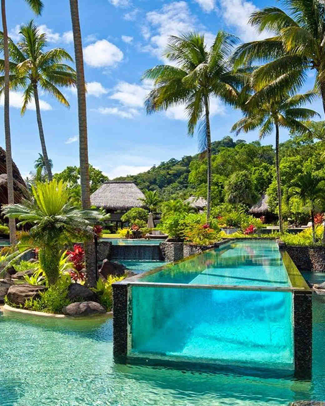 best beach honeymoons laucala