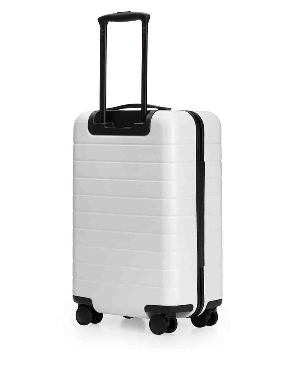 bride gift guide away the carry on luggage white