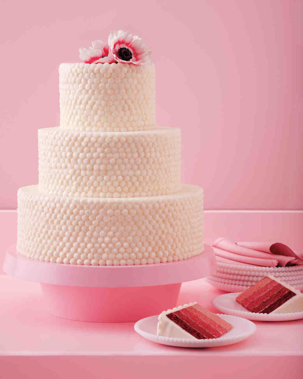 15 Red Velvet Wedding Cakes & Confections | Martha Stewart Weddings