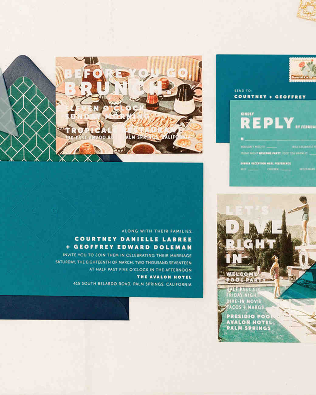 envelope invites lauren scotti