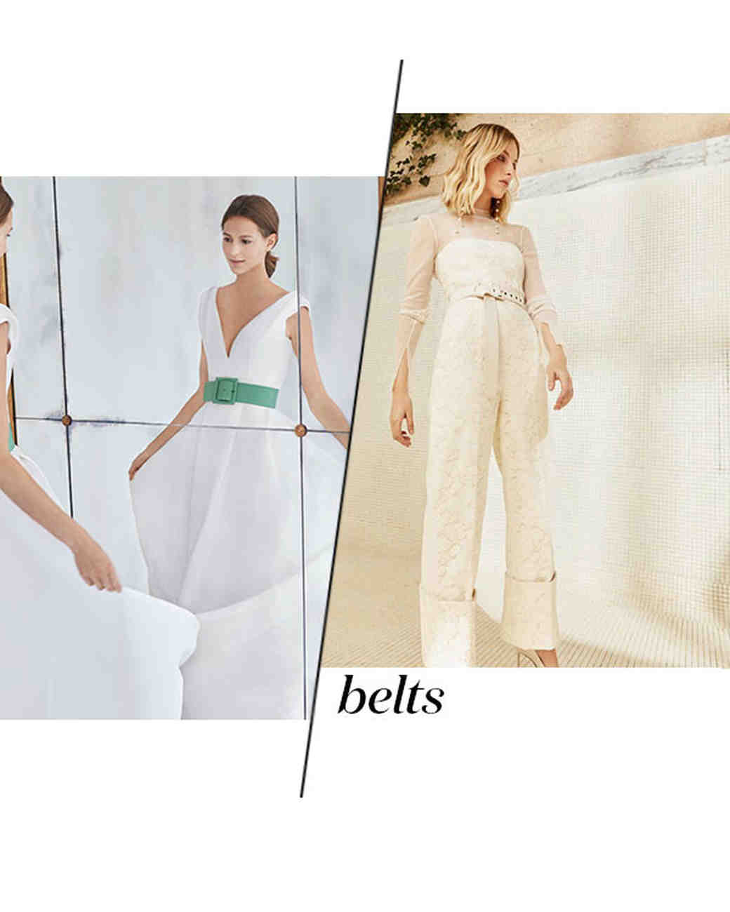 Fall 2018 Wedding Dress Trends, Belts