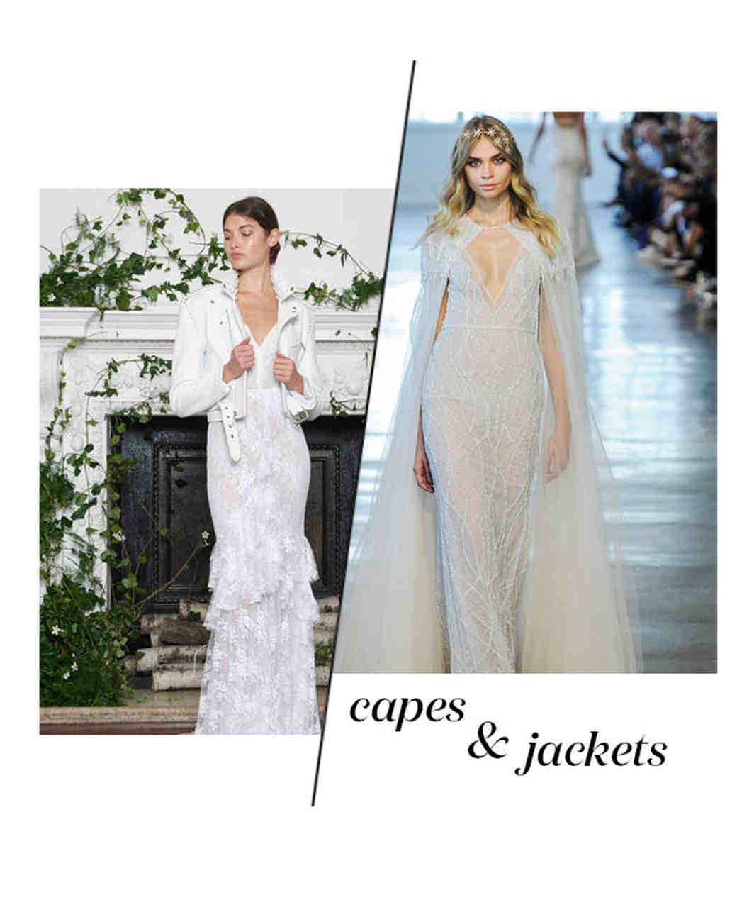 Fall 2018 Wedding Dress Trends, Capes & Jackets