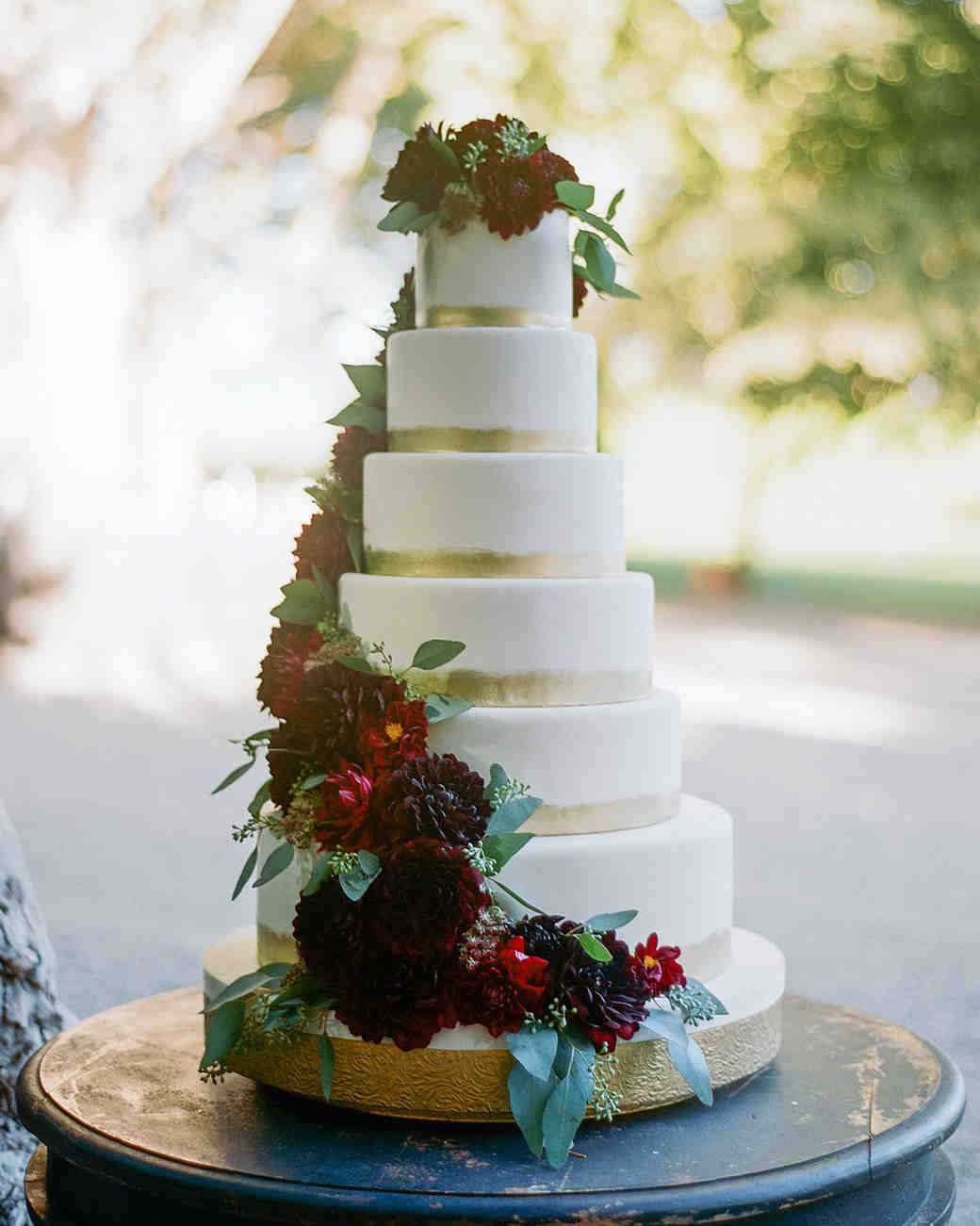 fall wedding cakes sylvie gil