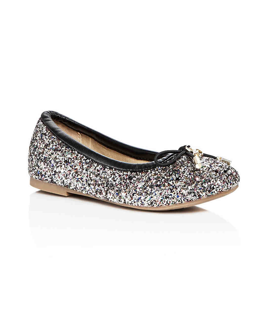 flower girl shoes glitter flats