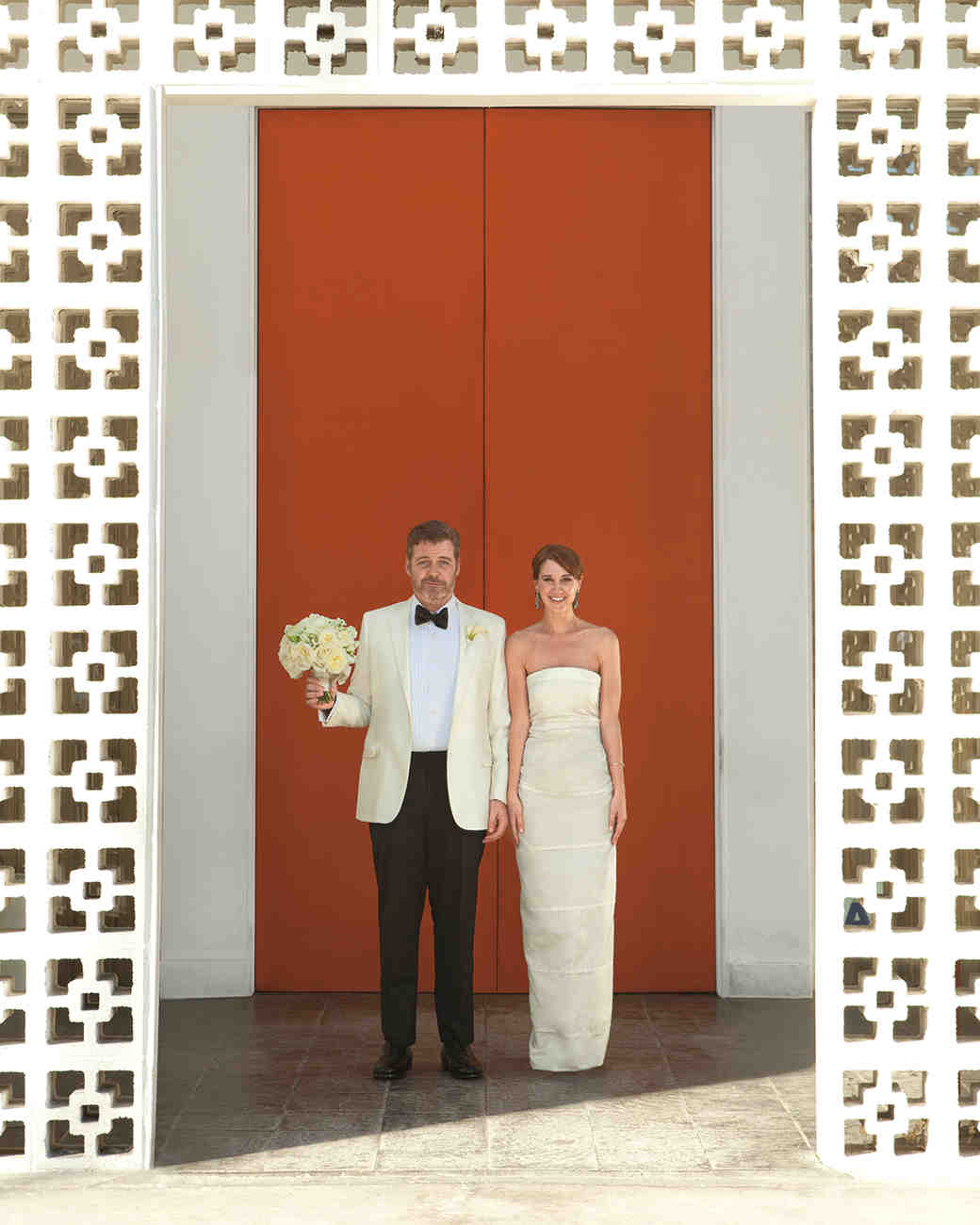 A Bright Modern Destination Wedding in Palm Springs, California ...