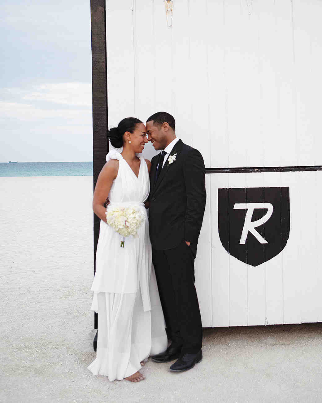 A Modern Black And White Destination Wedding In Miami