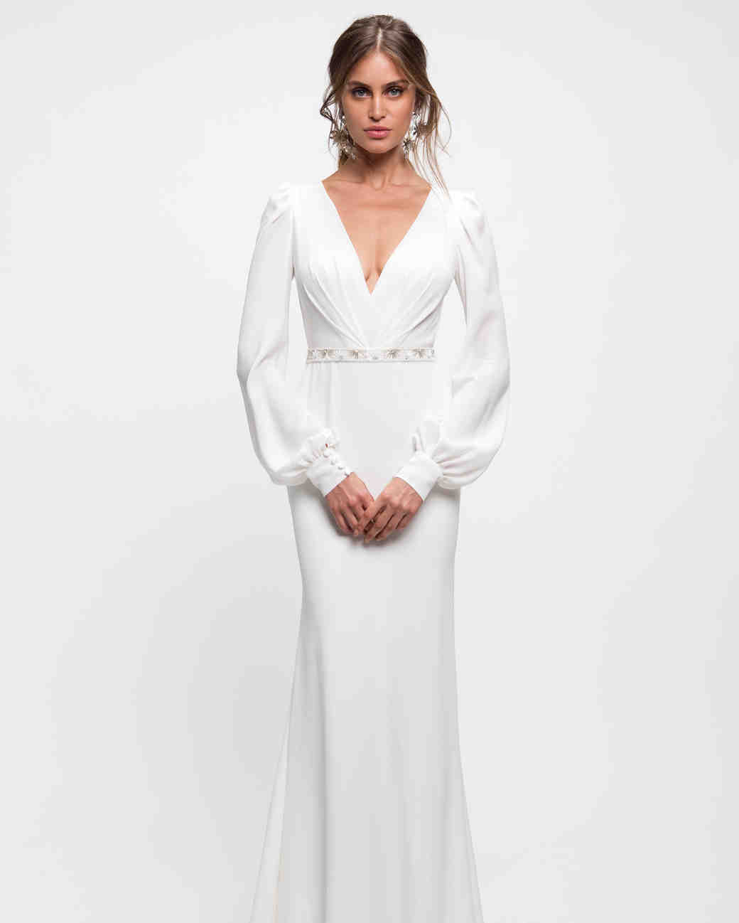 Long-Sleeved Wedding Dresses We Love | Martha Stewart Weddings