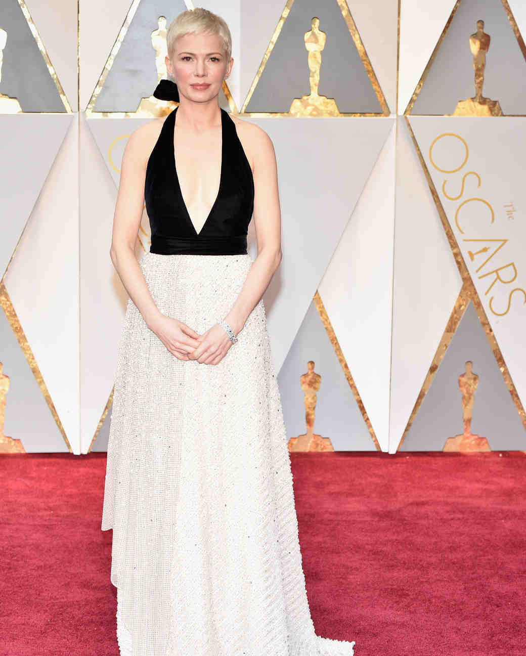 Michelle Williams 2017 Oscars Red Carpet