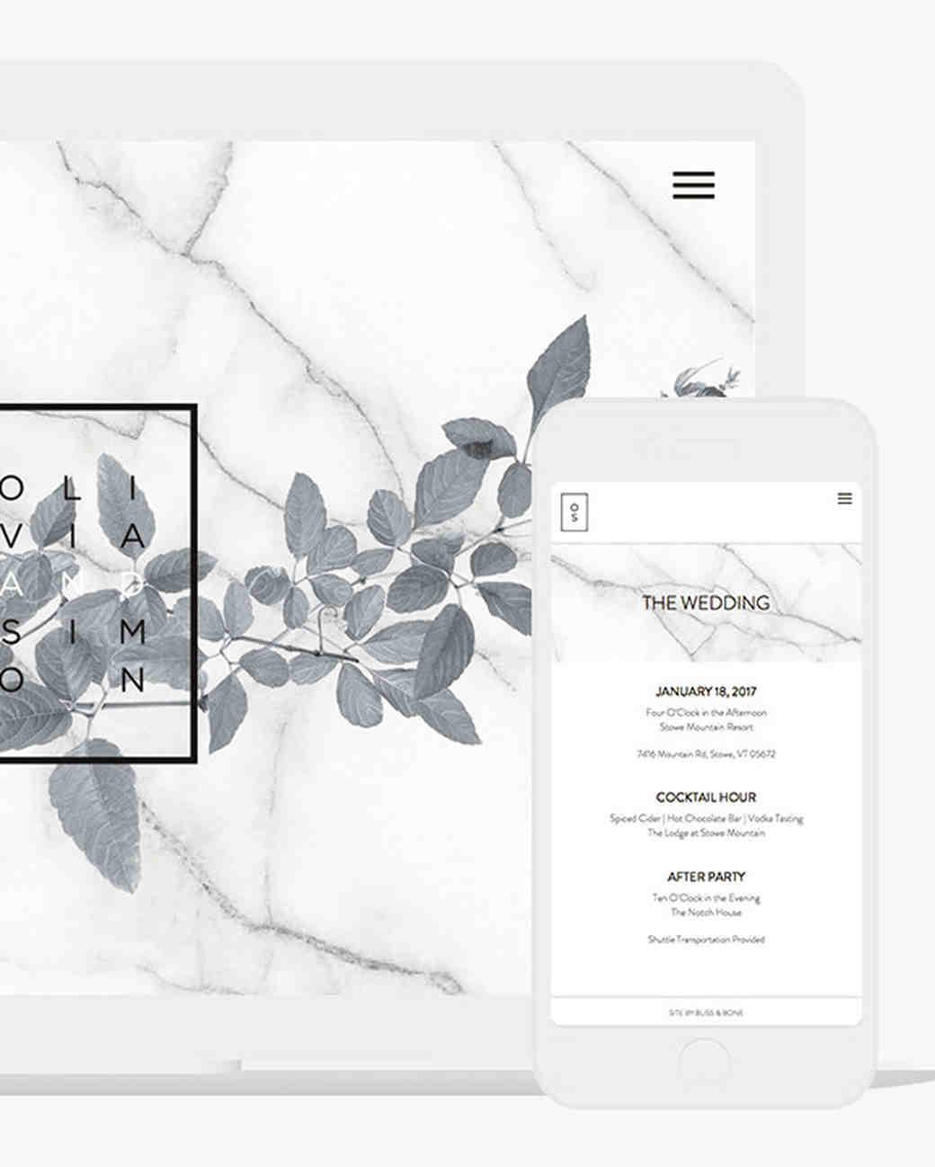 digital wedding invites