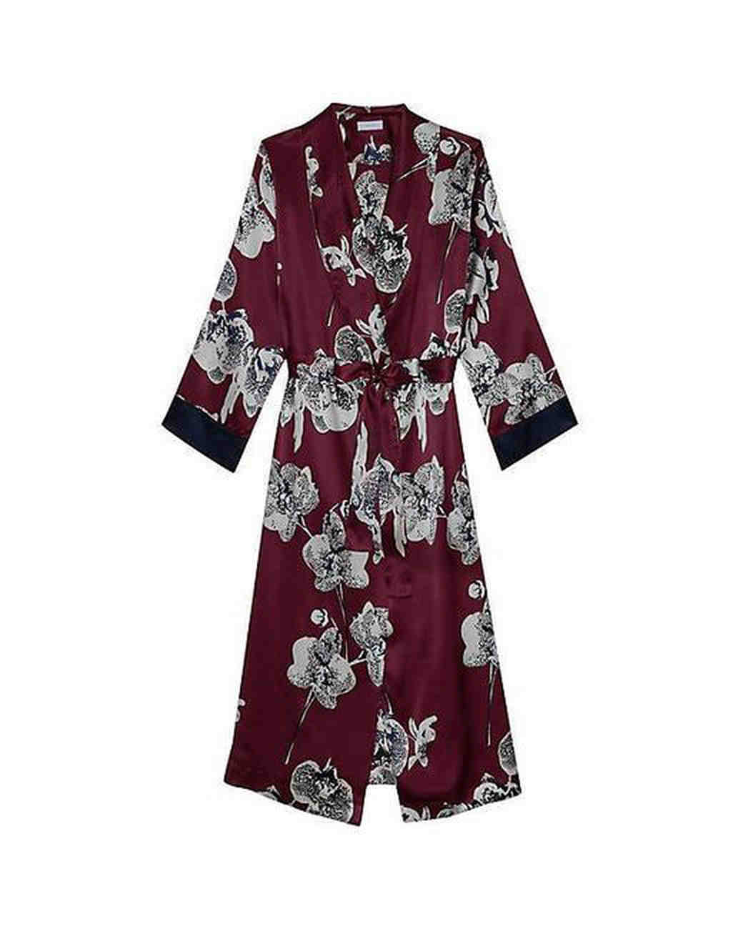 floral robe