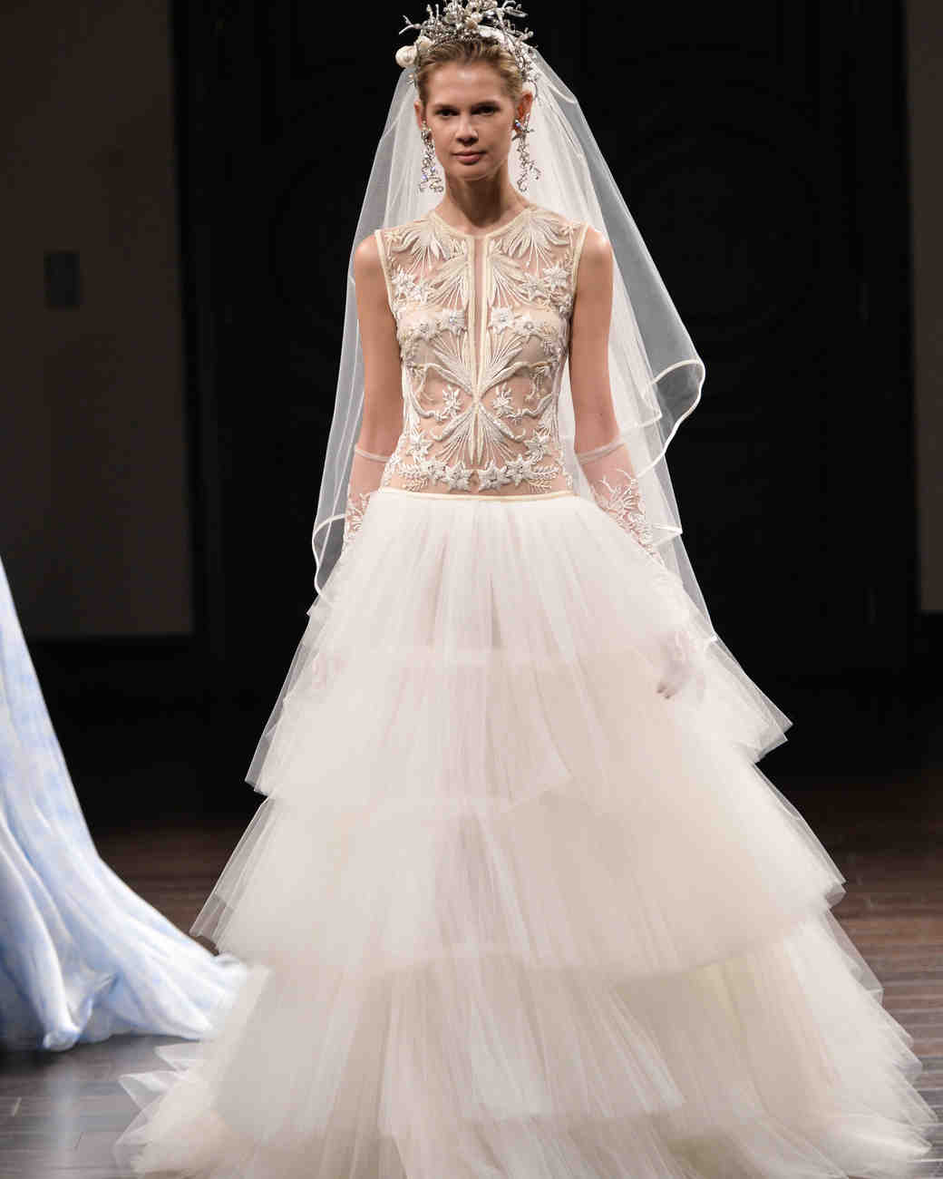 Naeem Khan Wedding Gowns: Naeem Khan Spring 2016 Bridal Show