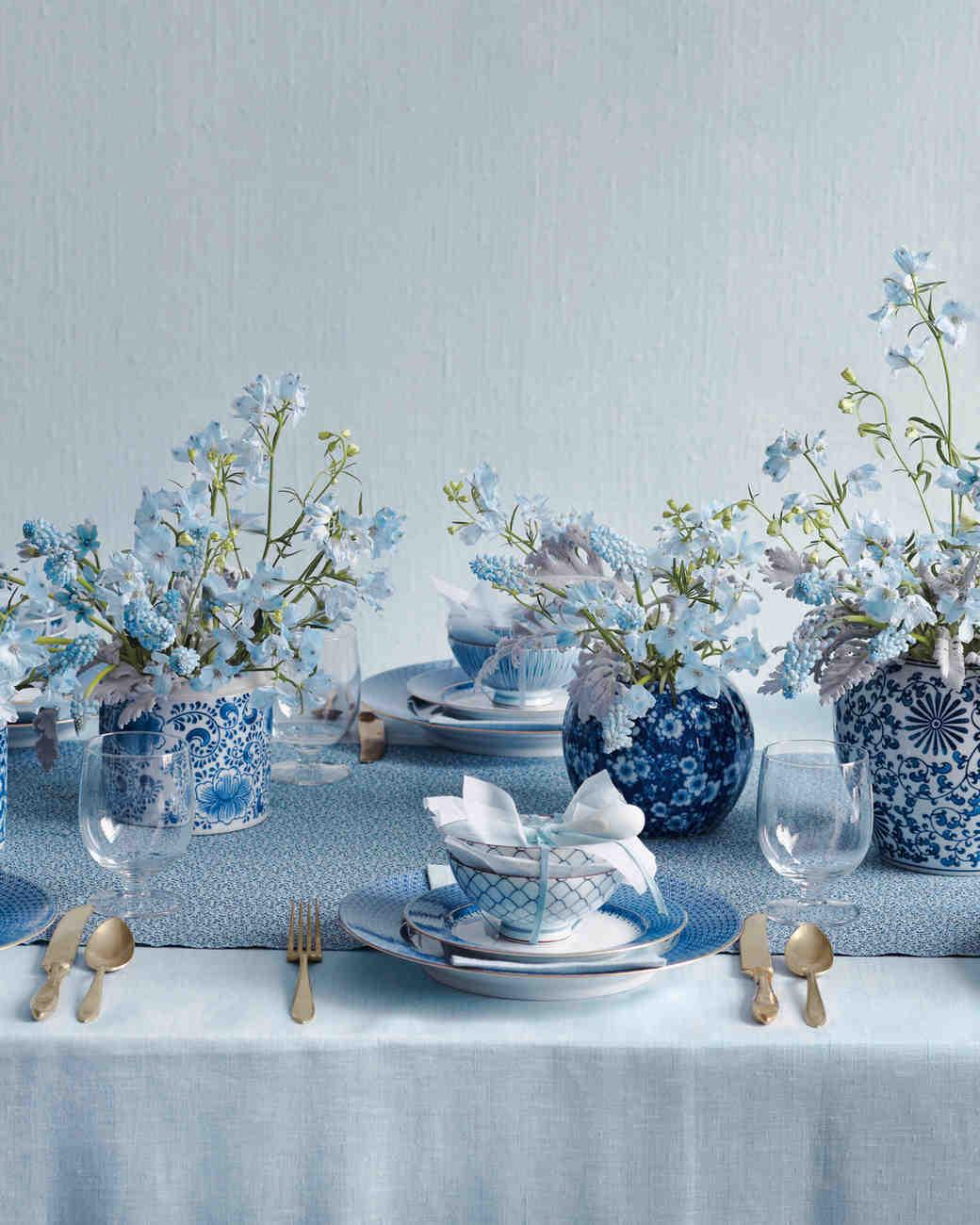 14 Blue Color Palette Ideas For Your Big Day