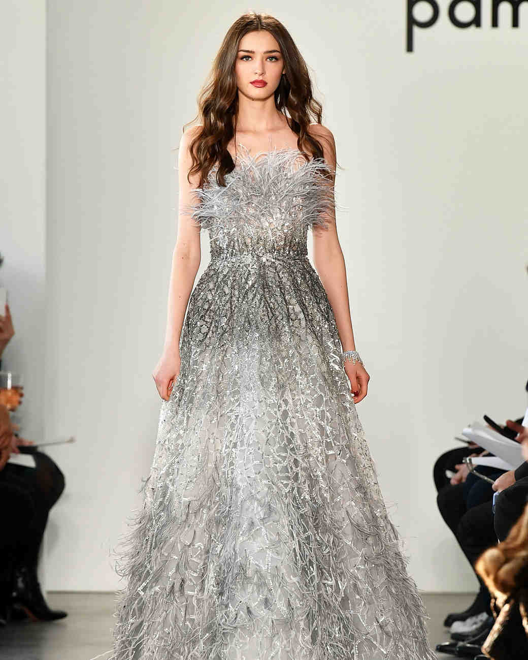 New York Fashion Week Looks That Give Major Bridal Inspiration Martha Weddings