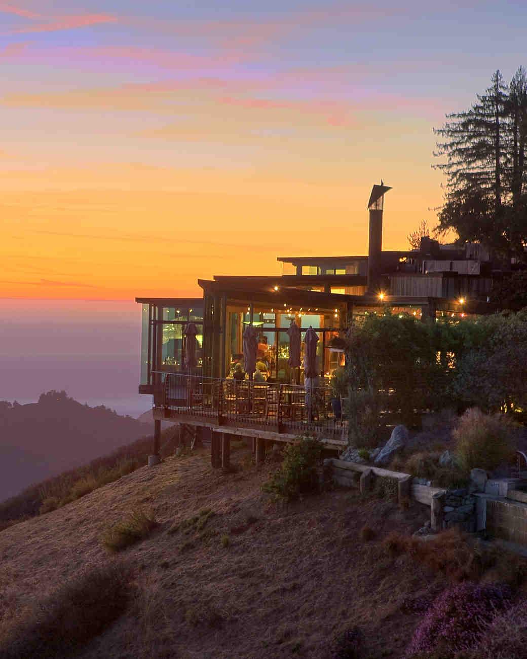 hotels for your honeymoon with amazing views | martha stewart weddings