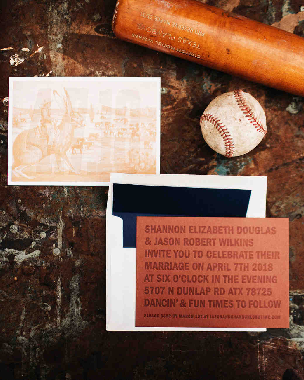 shannon jason wedding invites