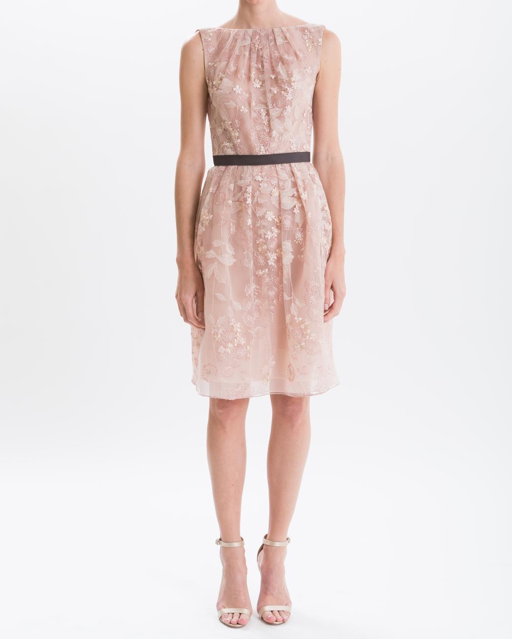 J. Mendel Blush Knee-Length Dress
