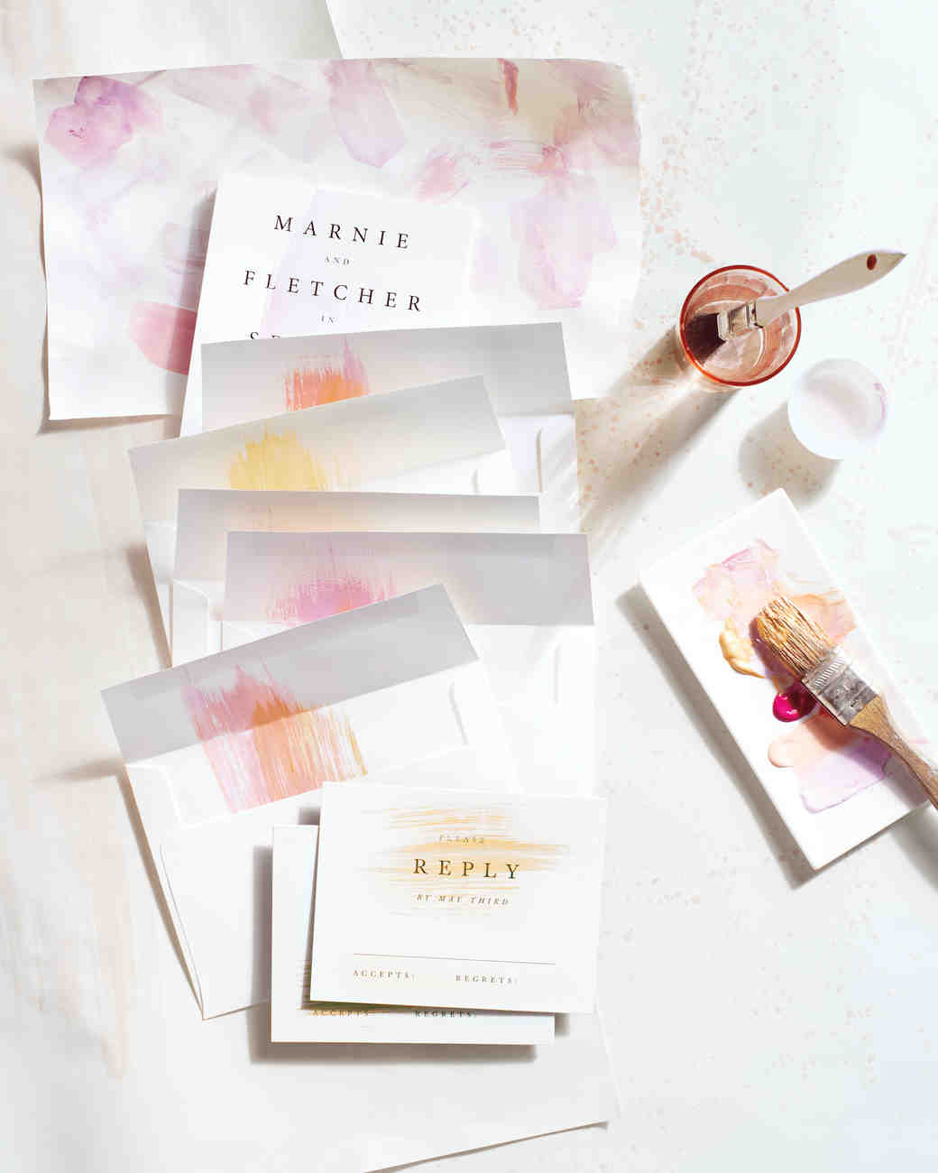 8 Tips For DIYing Your Wedding Invites | Martha Stewart Weddings
