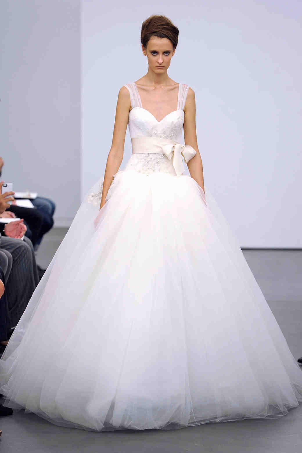 Vera Wang, Fall 2013 Collection | Martha Stewart Weddings