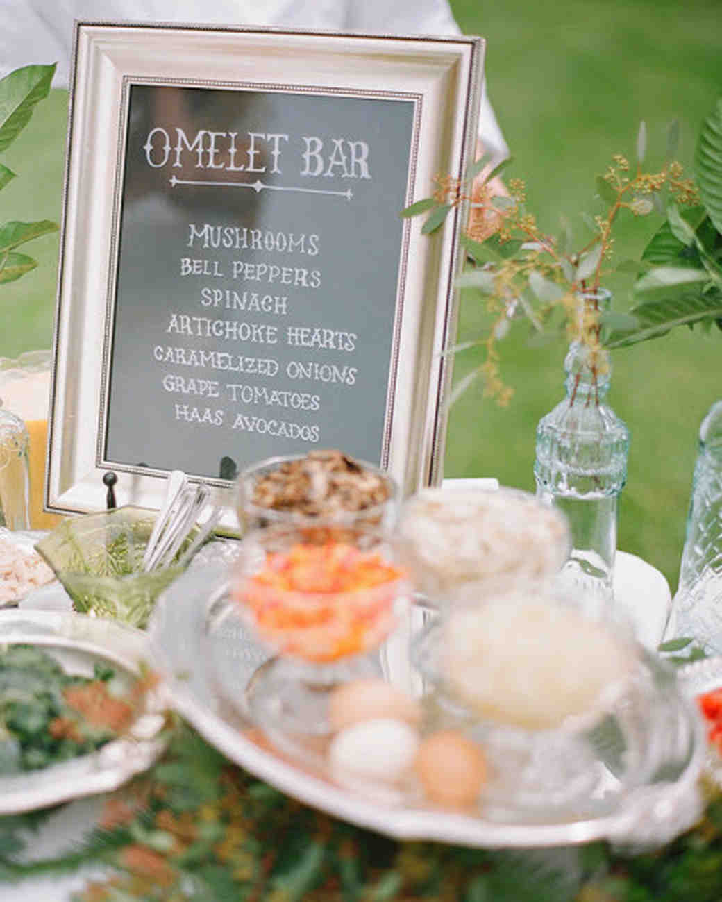 wedding food bars jill thomas