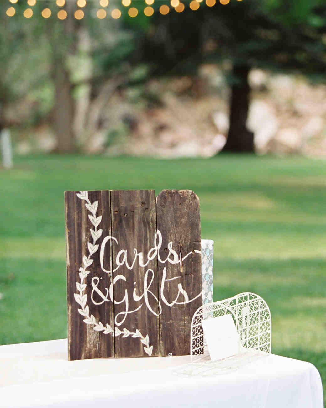 wedding gift tables sara lynn