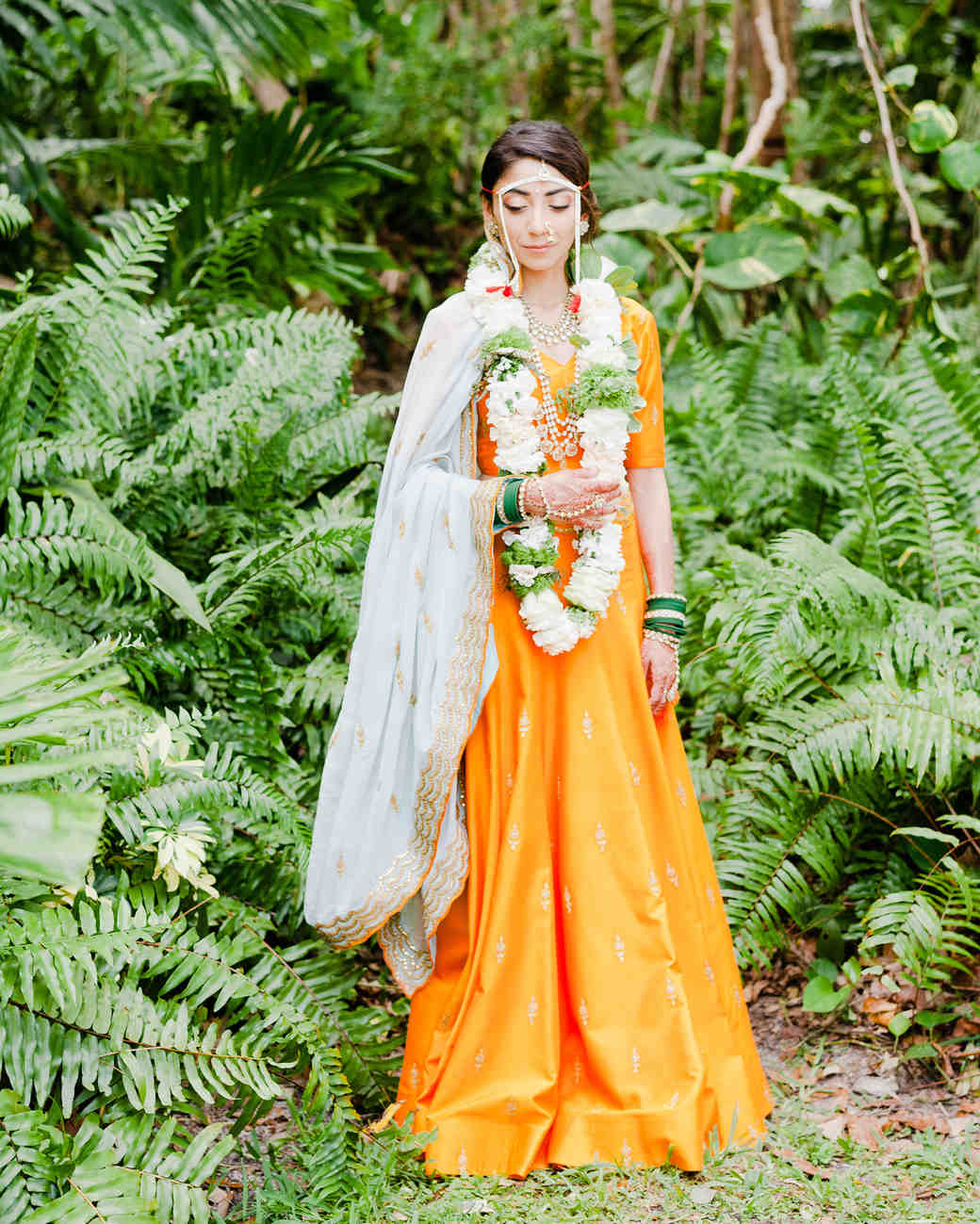 anuja nikhil wedding bride