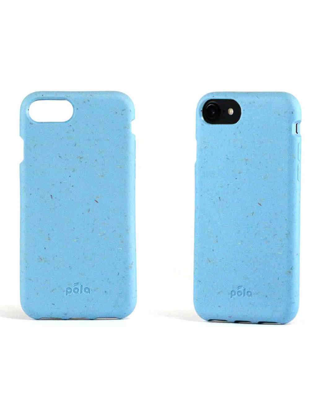 "Pela iPhone Case in ""Sky Blue"""