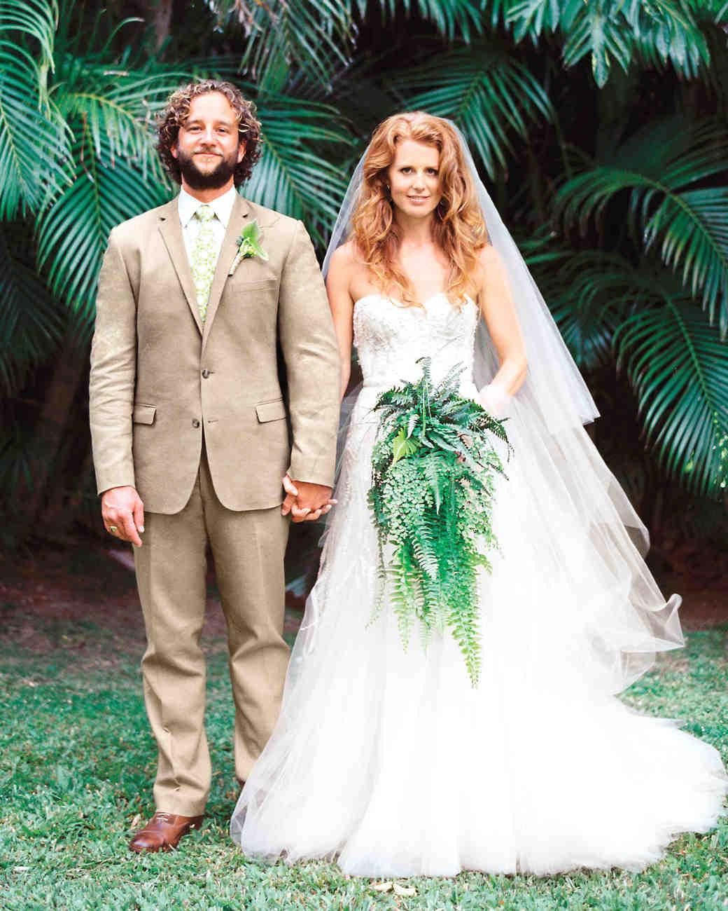 A romantic beach destination wedding in haiku hawaii martha caitlin and loren junglespirit Gallery