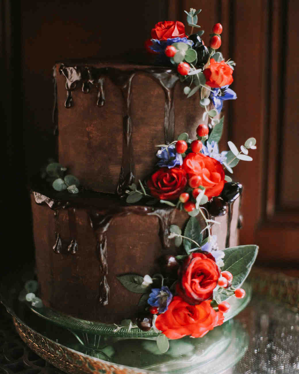 Fun Wedding Cake Ideas: 26 Chocolate Wedding Cake Ideas That Will Blow Your Guests