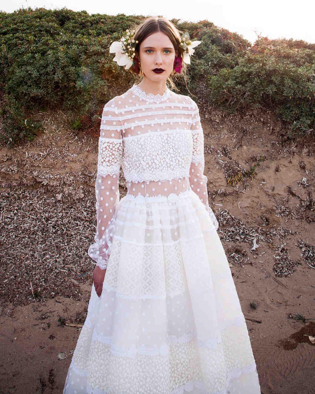 Christos Costarellos Spring 2017 Wedding Dress Collection Martha Weddings