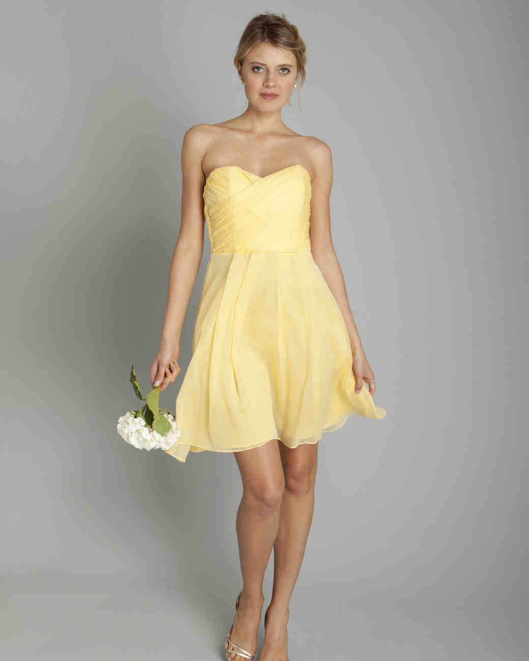 Yellow bridesmaid dresses martha stewart weddings coren moore spring 2013 ombrellifo Images