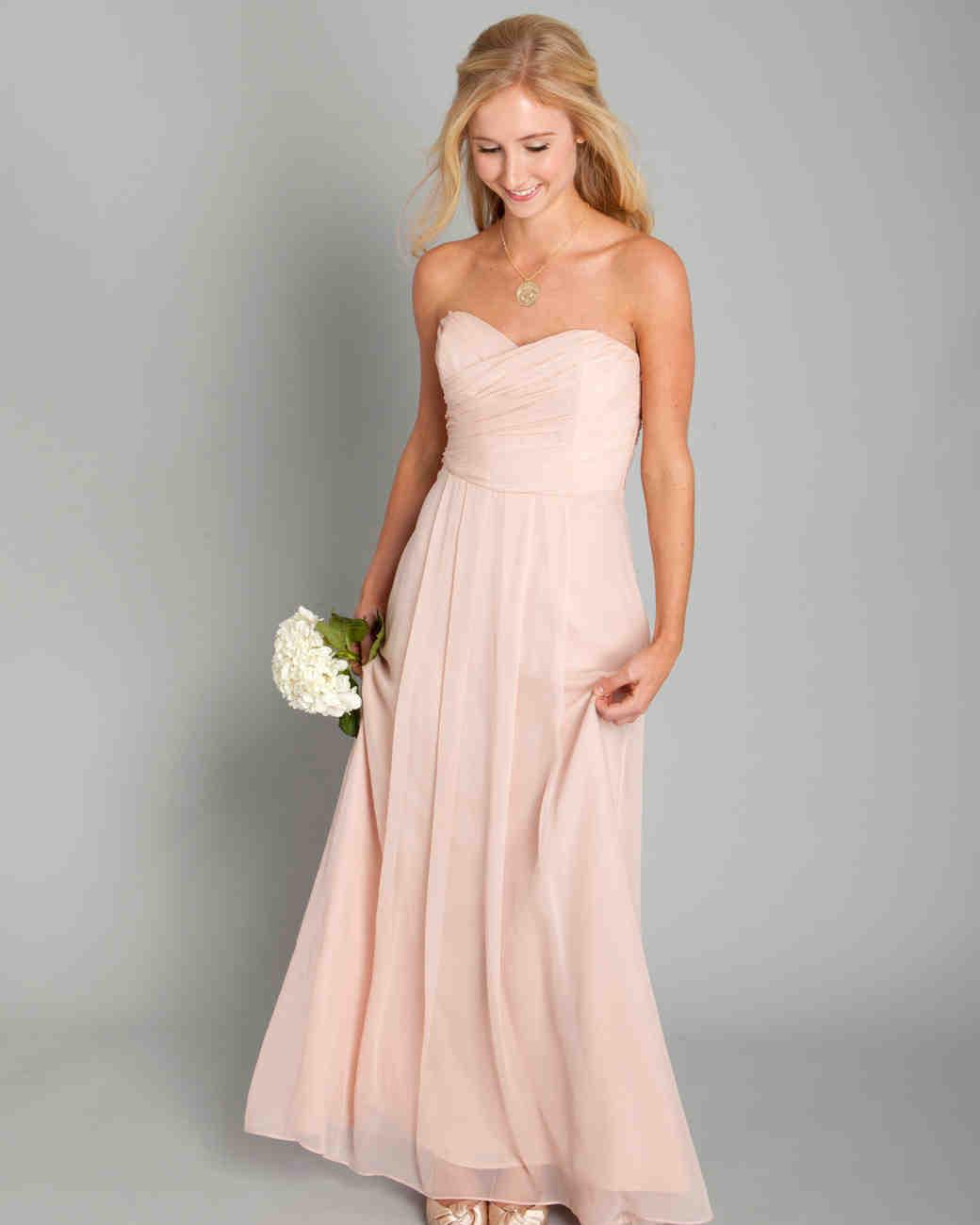 Pink bridesmaid dresses martha stewart weddings photography courtesy coren moore ombrellifo Image collections