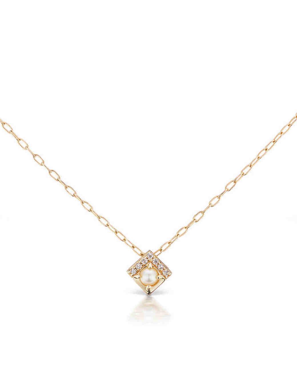 delicate gold necklace  pendant Jane Taylor