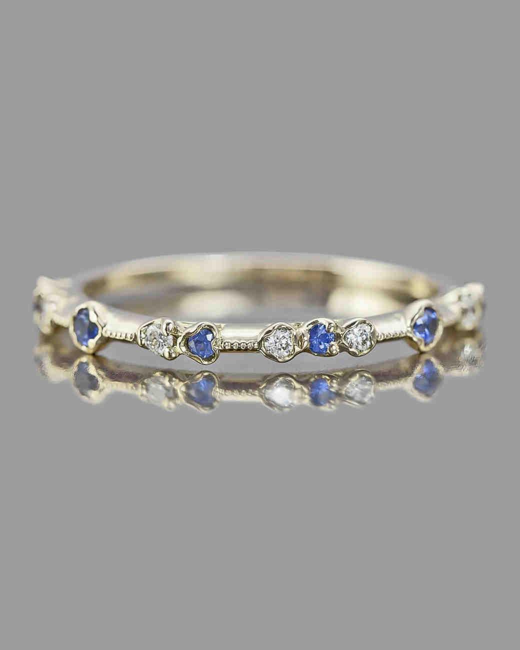 bfde24f58240ff The Prettiest Delicate Wedding Bands for Modern Brides | Martha Stewart  Weddings